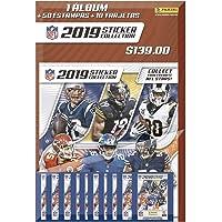 Multiset NFL 2019/2020 Hybrid Mexico Álbum + 10 sobres (50 estampas + 10 tarjetas)