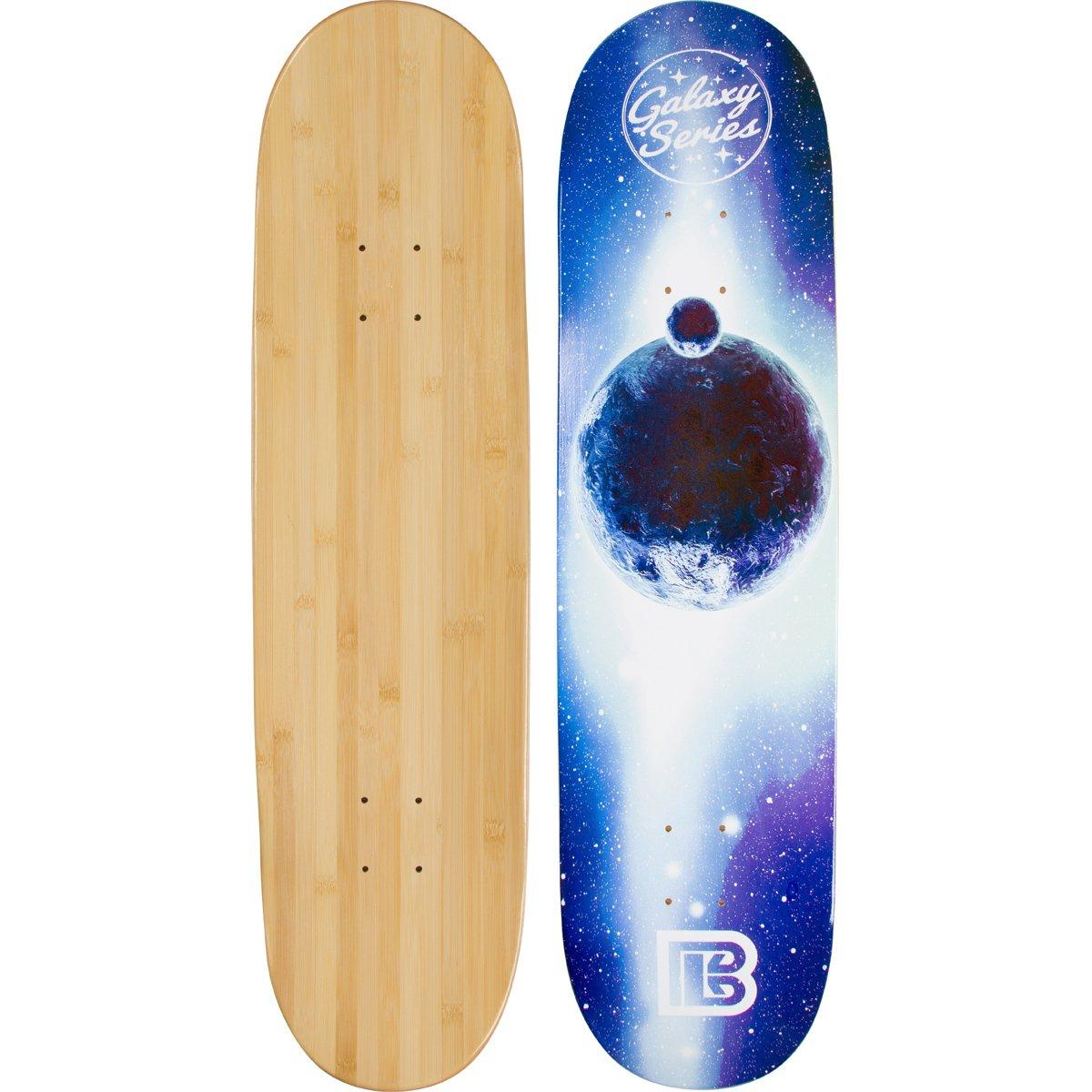 Bamboo Skateboards Galaxy Series: Blue Moon Skateboard Deck (8.25'')