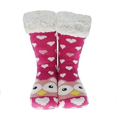 CityComfort Slipper Socks Mujer Girls Premium Home Soft Calcetines Tamaño 4 5 6 7 8 -
