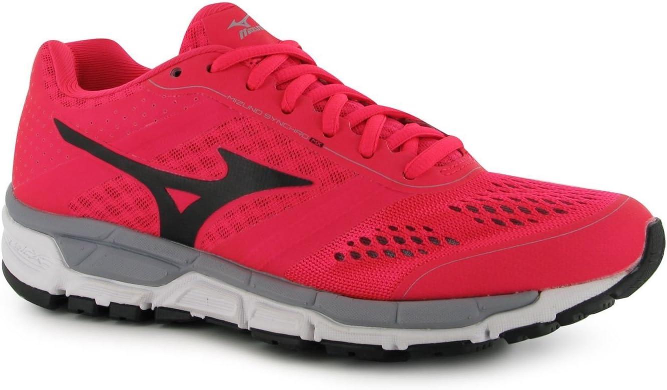 Mizuno Synchro MX Zapatillas de Running para Mujer, Color Rosa/Negro Zapatillas Zapatillas de Deporte para, Rosa y Negro: Amazon.es: Deportes y aire libre