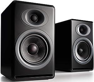 Audioengine P4 125W Passive Desktop Speakers (Pair) Black