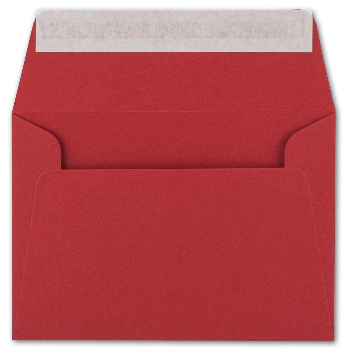200x Brief-Umschläge B6 - Naturweiss - 12,5 x x x 17,5 cm - Haftklebung 120 g m² - breite edle Verschluss-Lasche - hochwertige Einladungs-Umschläge B078H7ZD4S | Beliebte Empfehlung  f2d452