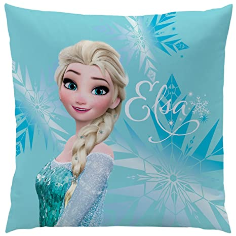 CTI 043672 Frozen Enjoy - Cojín (poliéster, 40 x 40 cm ...