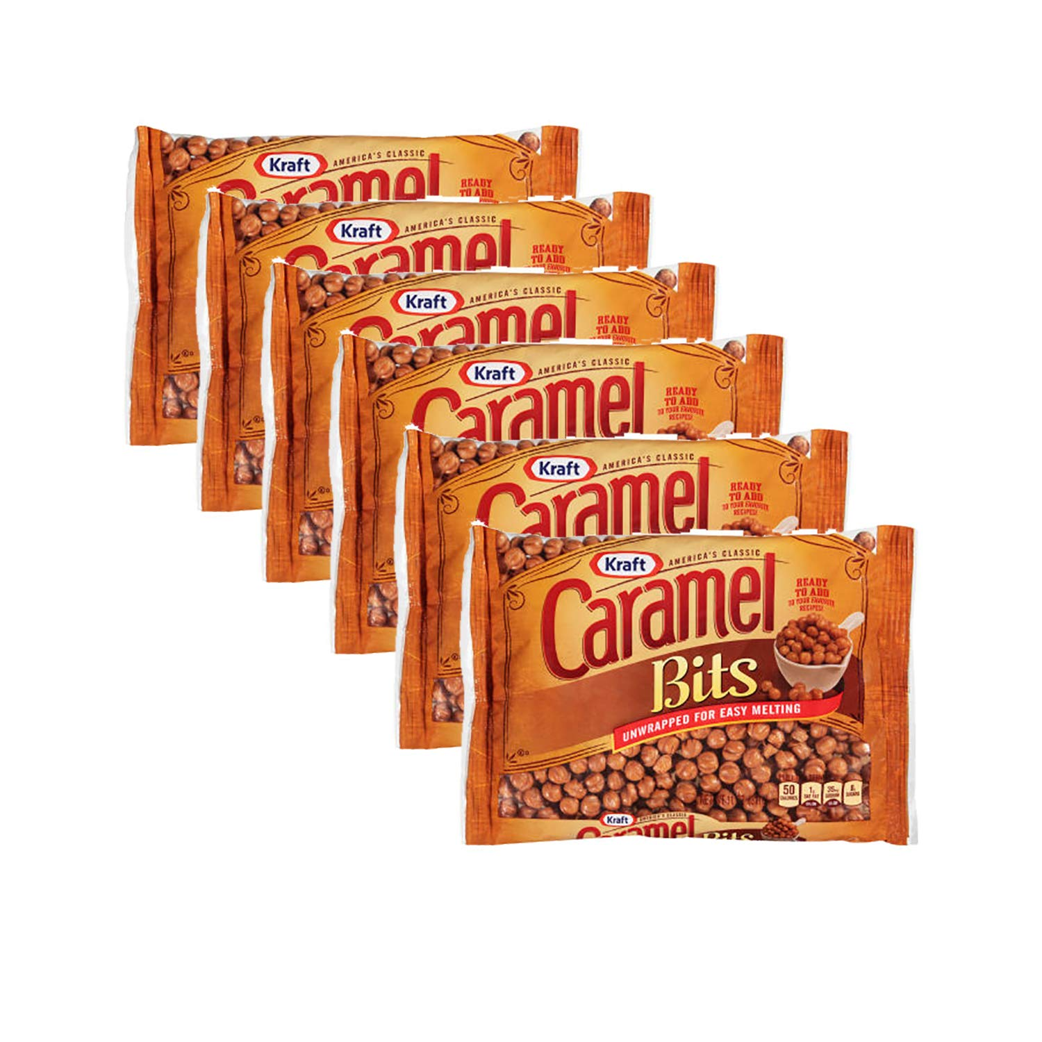 Kraft Caramel Bits, 11oz Bag, 1 CT (PACK - 6)