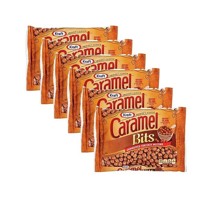 Kraft Caramel Bits, 11oz Bag, 1 CT (PACK - 6)