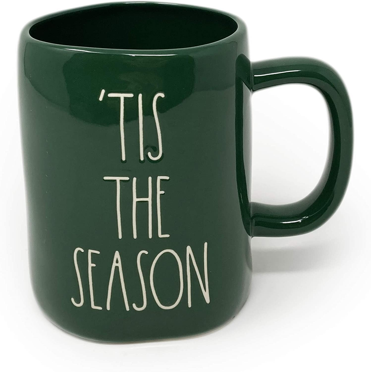 Details about  /Rae Dunn Stainless Christmas Holiday Traveler Tumbler Lid Green FA LA LA  NWT