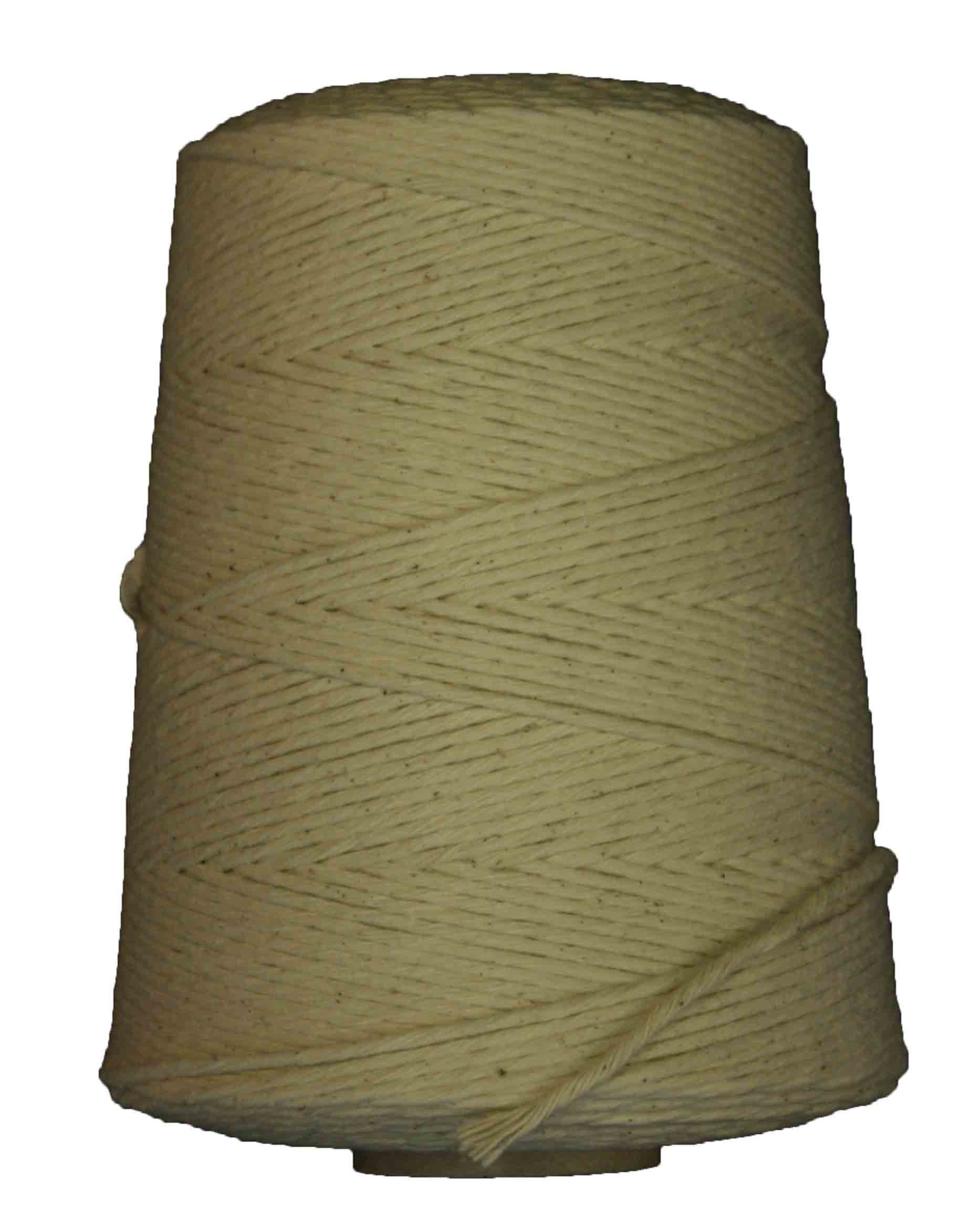 Butcher's Twine. 3,600 Foot Roll of Prime Source Brand Butcher Twine. 24 Ply. Breaking Strength of 26 Lbs.