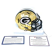 $399 » Aaron Rodgers Clay Matthews Green Bay Packers DUAL Signed Autograph CHROME Speed Mini Helmet Fanatics Authentic & Steiner Sports…
