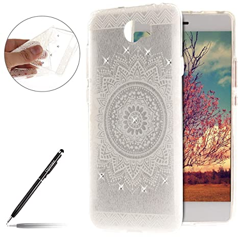 uposao carcasa Huawei Y5 II/Y5 2 Mandala transparente con ...