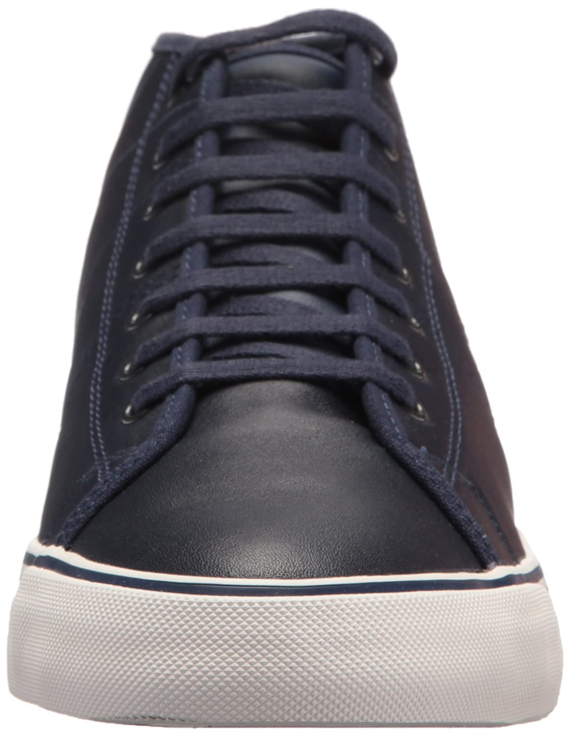 Fred Perry Haydon Mid Leather Sneaker B06VVR3236 9.5 D UK (10.5 US)|Carbon Blue
