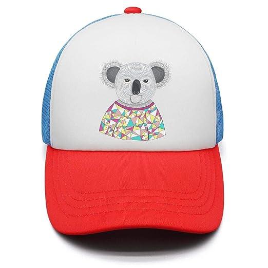 139ee338 Cute Big Koala Bear Hipster Koala Kids Snapback Hats for Boys and Girls  Outdoor Baby Caps