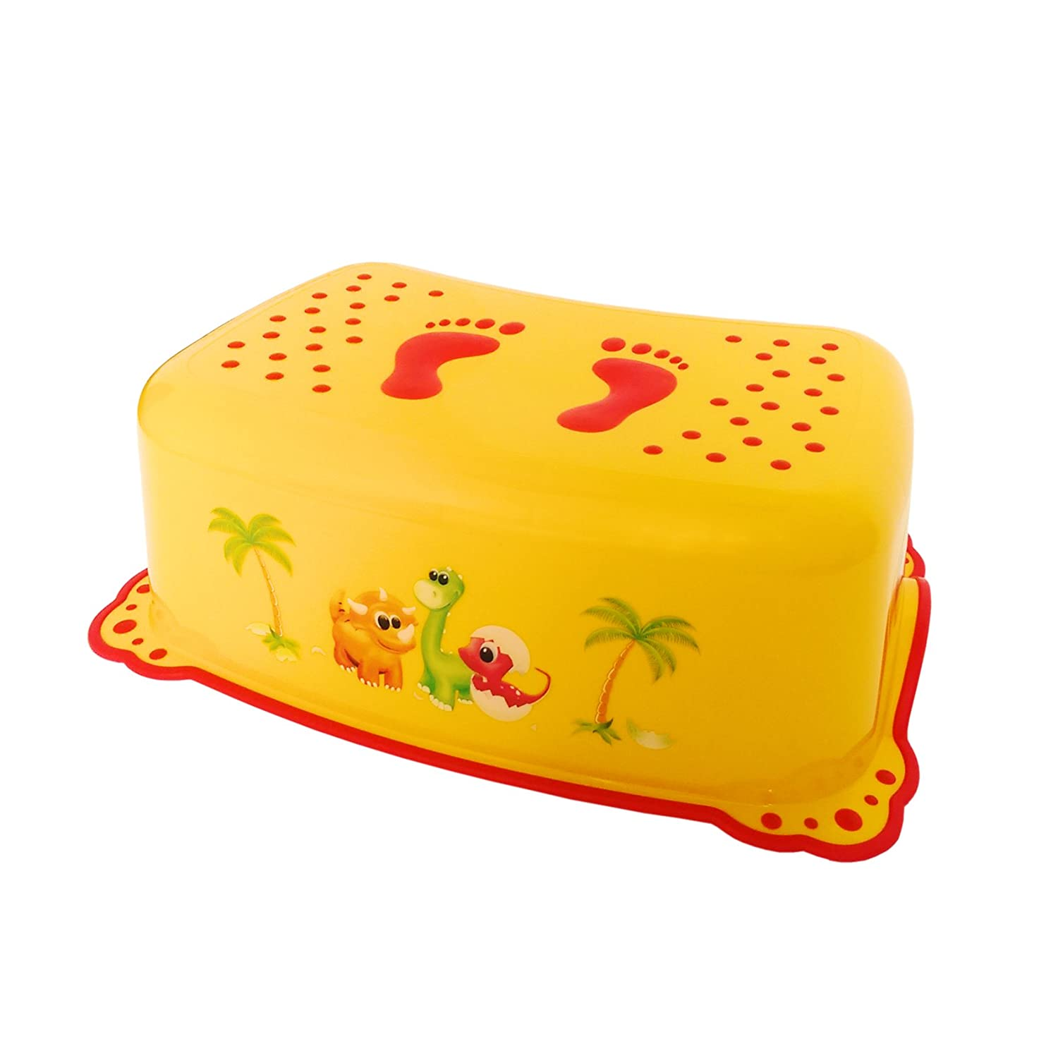 Dino Toddler Toilet Training Step Stool - Yellow UNKNOWN