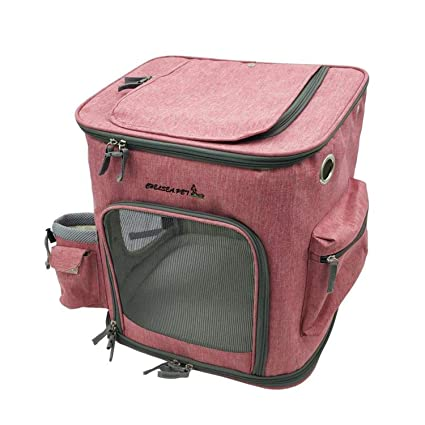 3c6df9cc57f4 Amazon.com : LIAOYLY Cat Carrying Extra Large Capacity Pet Backpack ...
