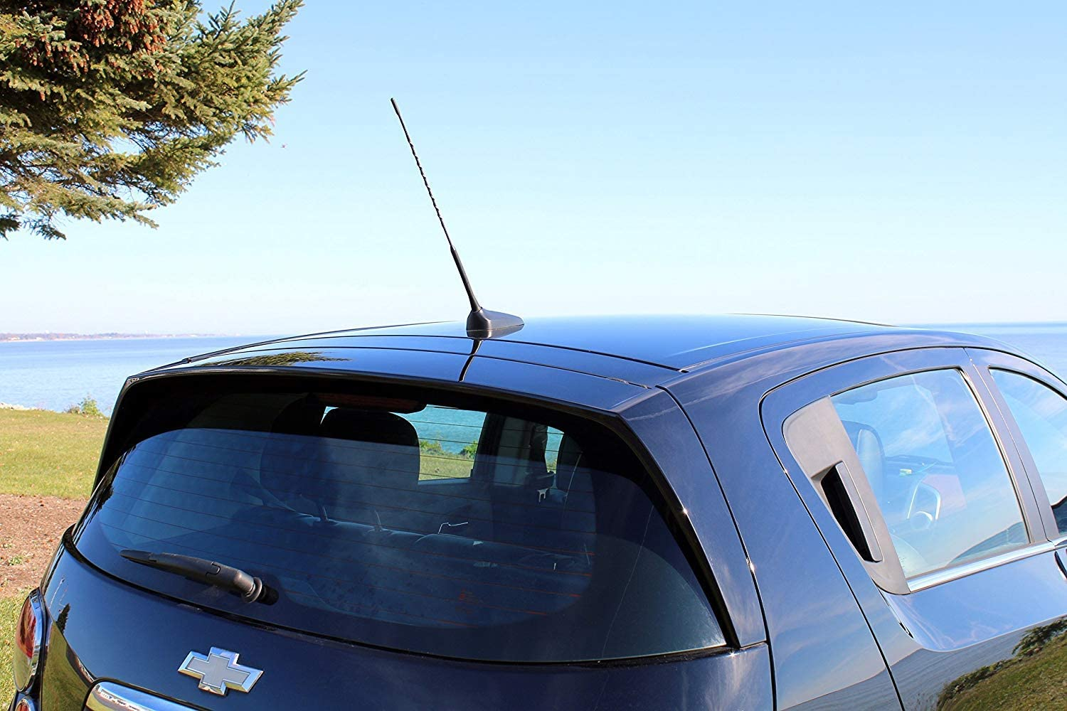 Cara 2.5 Radio Car Antenna Black Stubby Mini Short Antenna Mast AM FM Antenna Aerial for Honda Toyota RAV4 Nissan 350z Suzuki Aerio Swift Lexus IS300 RX3