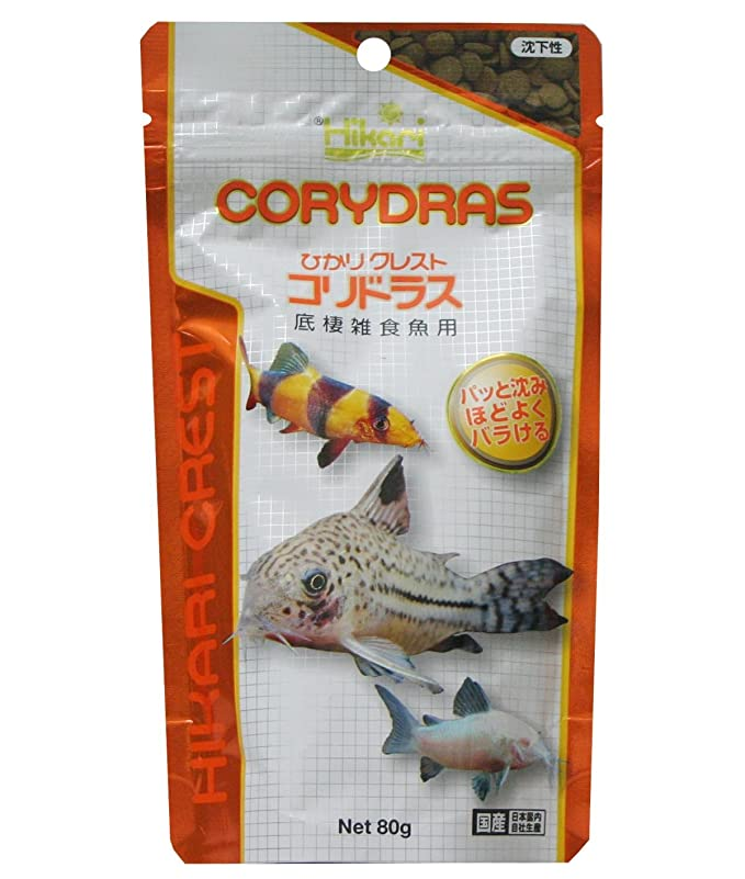 ヒカリ (Hikari) ひかりクレスト コリドラス 底棲雑食魚用 80g