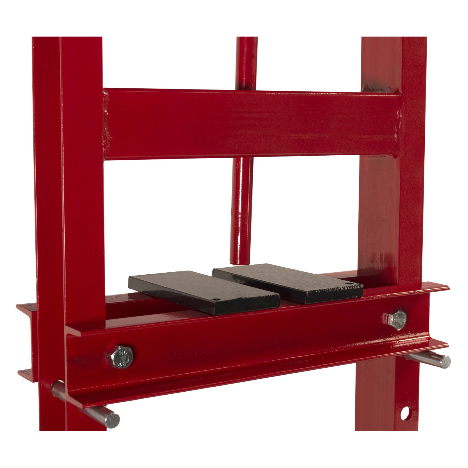 Dragway Tools 6-Ton Hydraulic Shop Floor Press with Press Plates and H Frame is Ideal for Gears and Bearings by Dragway Tools (Image #5)