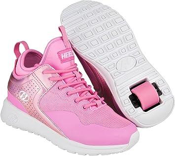 Heelys Piper Schuh 2018 Light Pink/Pink Hologram Metallics, 31