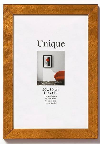 Walther Unique Dg070j 50 X 70 Cm Wooden Photo Frame Copper Amazon