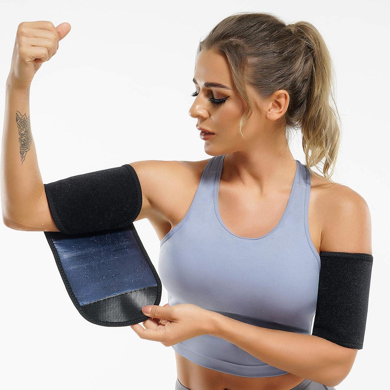 ZANZEA Neoprene Sweat Arm Thigh Support