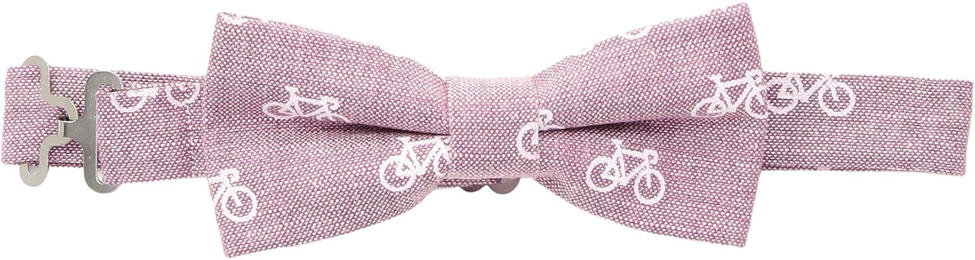 Appaman Kids  Baby Boy's Bow Tie (Toddler/Little Kids/Big Kids) Raspberry Bikes One Size