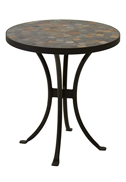 Superieur Outdoor Interiors LLC 31625 Mosaic Side Table, 18 Inch