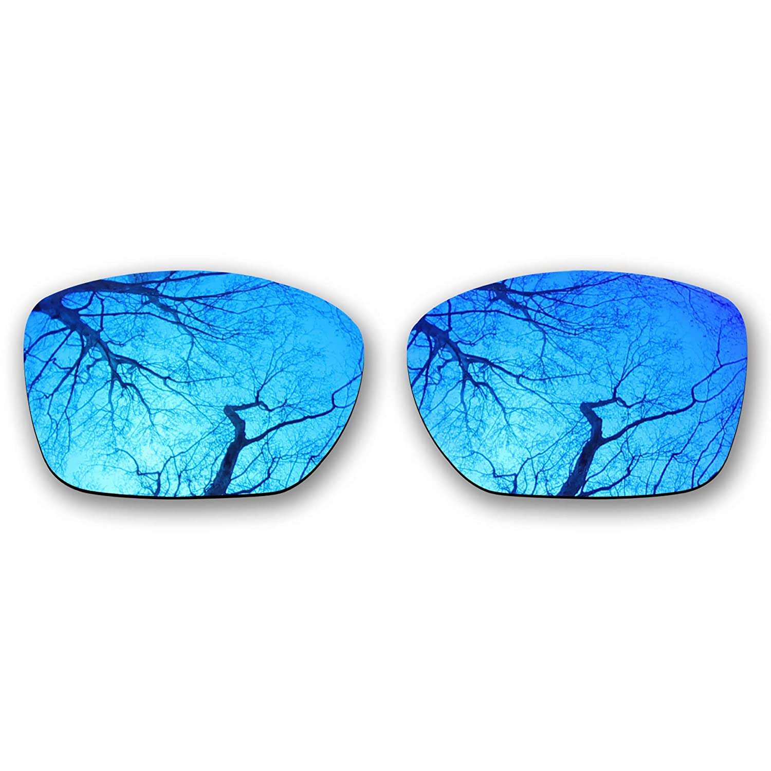 4083af69b5 Amazon.com  ToughAsNails Polarized Lens Replacement for Oakley TwoFace XL  OO9350 Sunglass - Violet Blue  Clothing