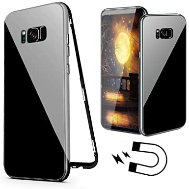 for samsung galaxy s8 plus magnetic case, luxury candy color design