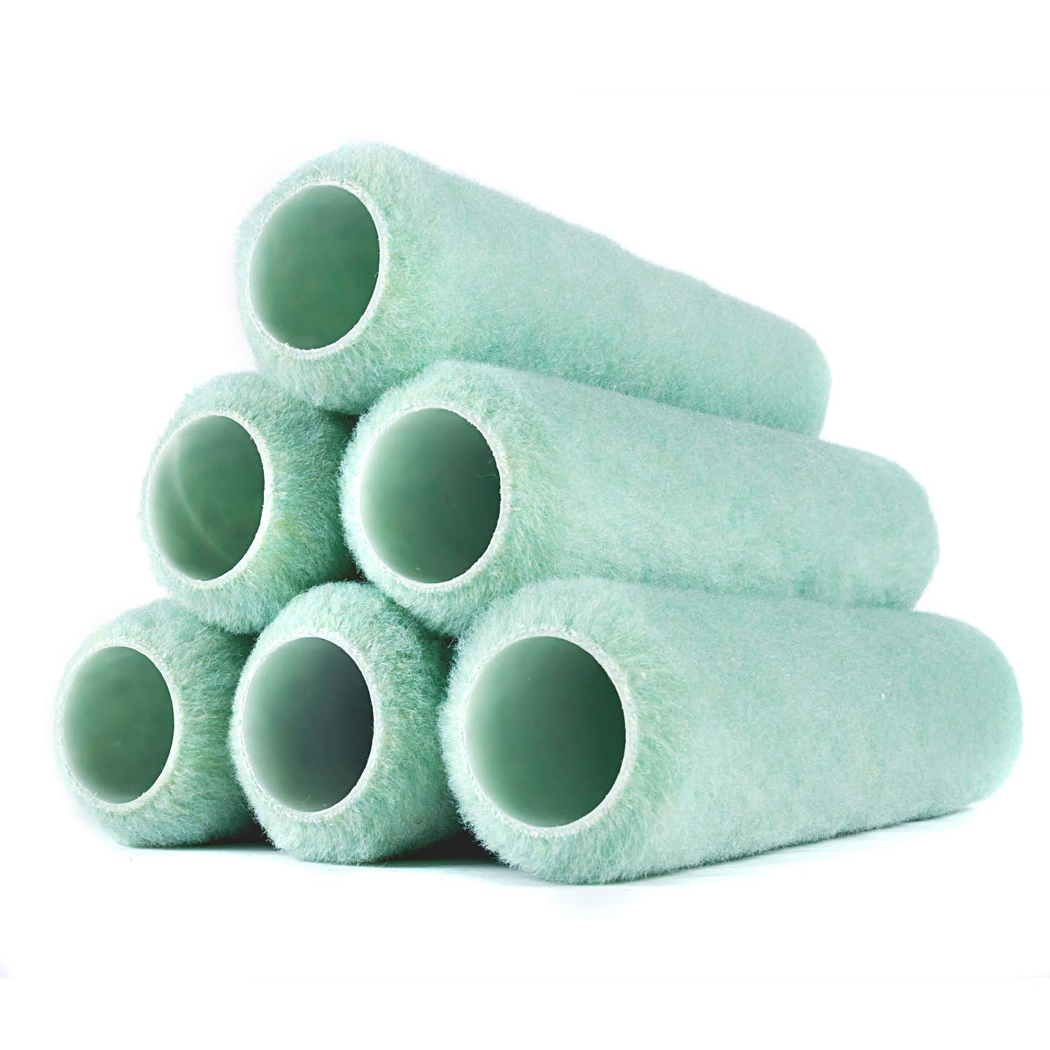 RollerLite (9AP038-6PK) Polyester Knit 9'' x 3/8'' - Standard Roller Covers (6-Pack) by Roller Lite