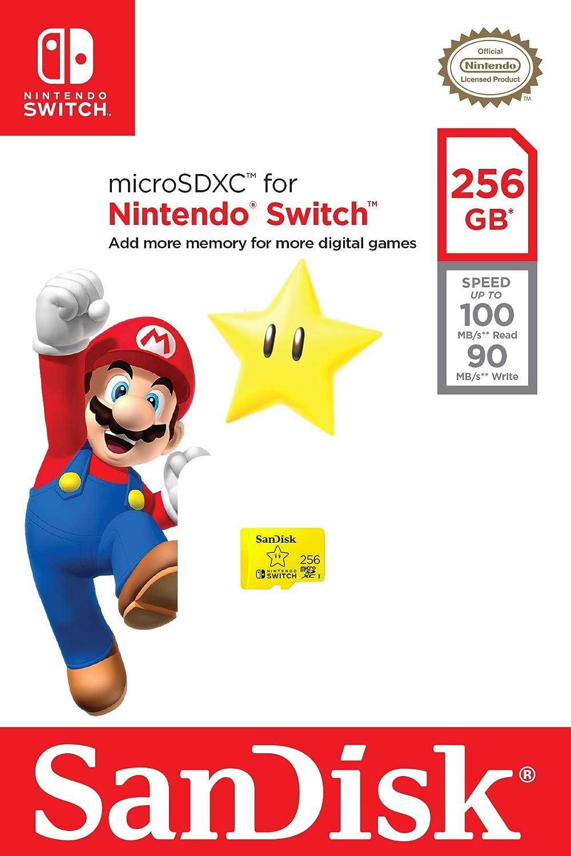 SanDisk MicroSDXC UHS-I - Tarjeta de memoria para Nintendo Switch: Amazon.es: Electrónica