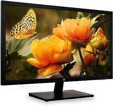 V7 L27E-3EU 68.6cm (27 Pulgadas) Monitor TN (HDMI, VGA, Full HD, Tiempo de Respuesta 5 ms, EEC A, Enchufe EU, Pantalla Mate) Negro: V7: Amazon.es: Electrónica
