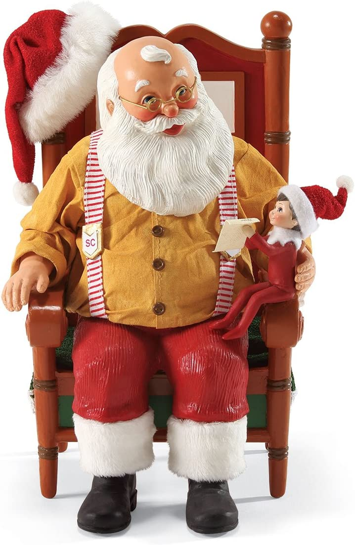 Department 56 Possible Dreams Updating St. Nick Santa Figurine