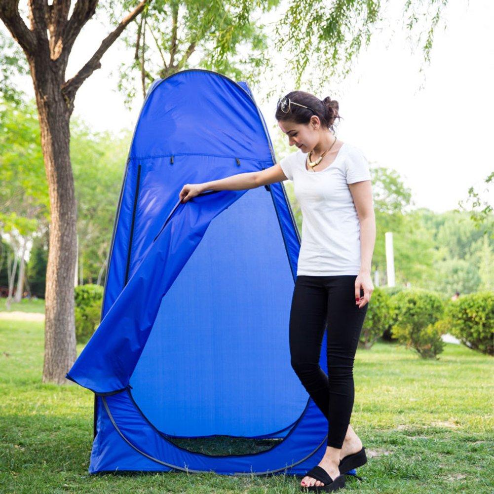 Outdoor-Dressing Zelt Einfache Strand camping portable mobile Toiletten Ankleide Schwimmen Bad automatische Baden Zelte