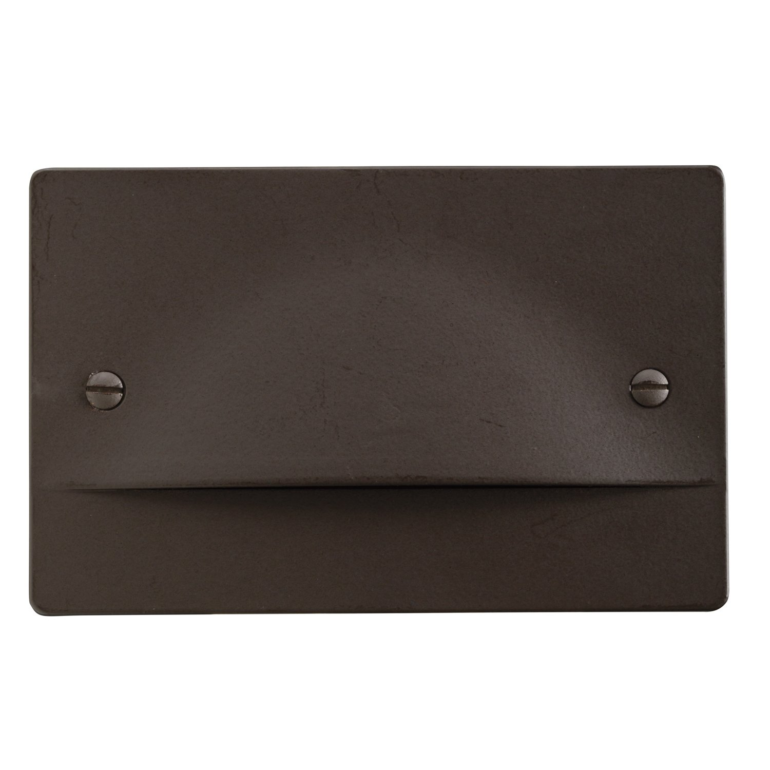 Kichler 12662AZ Step and Hall 120V LED Step Light Non-Dimmable, Architectural Bronze