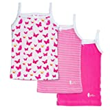 Amazon Price History for:Feathers Girls Pink Butterfly print Tagless Cami Super Soft Undershirts (3/pack)