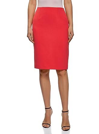 5741660cf34 oodji Collection Women s Knee-Length Pencil Skirt  Amazon.co.uk ...