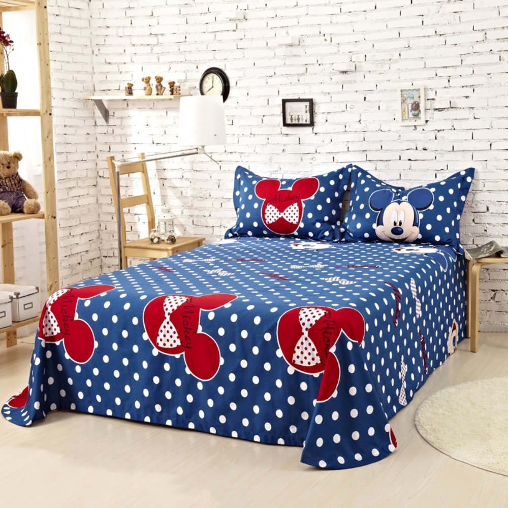 Amazon.com: Mickey Mouse Comforter Set Twin Queen King Size ...