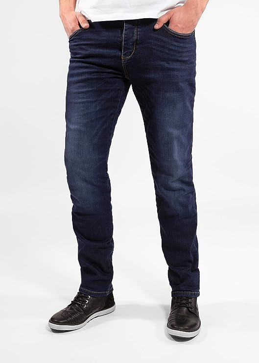 Einsetzbare Protektoren John Doe Ironehead Denim Jeans mit Stretch XTM Motorradhose mit Kevlar Atmungsaktiv Motorrad Jeans