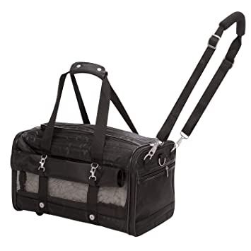 Sherpa Extra Large Xl Ultimate Soft Sided Pet Carrier On Wheels 24