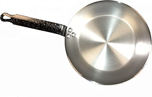 Paderno Heavy Duty Carbon Steel 8 Inch Frying Pan
