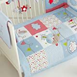 Red Kite Bertie Bear Cosi Cot 4 Piece Bedding Set FREE DELIVERY