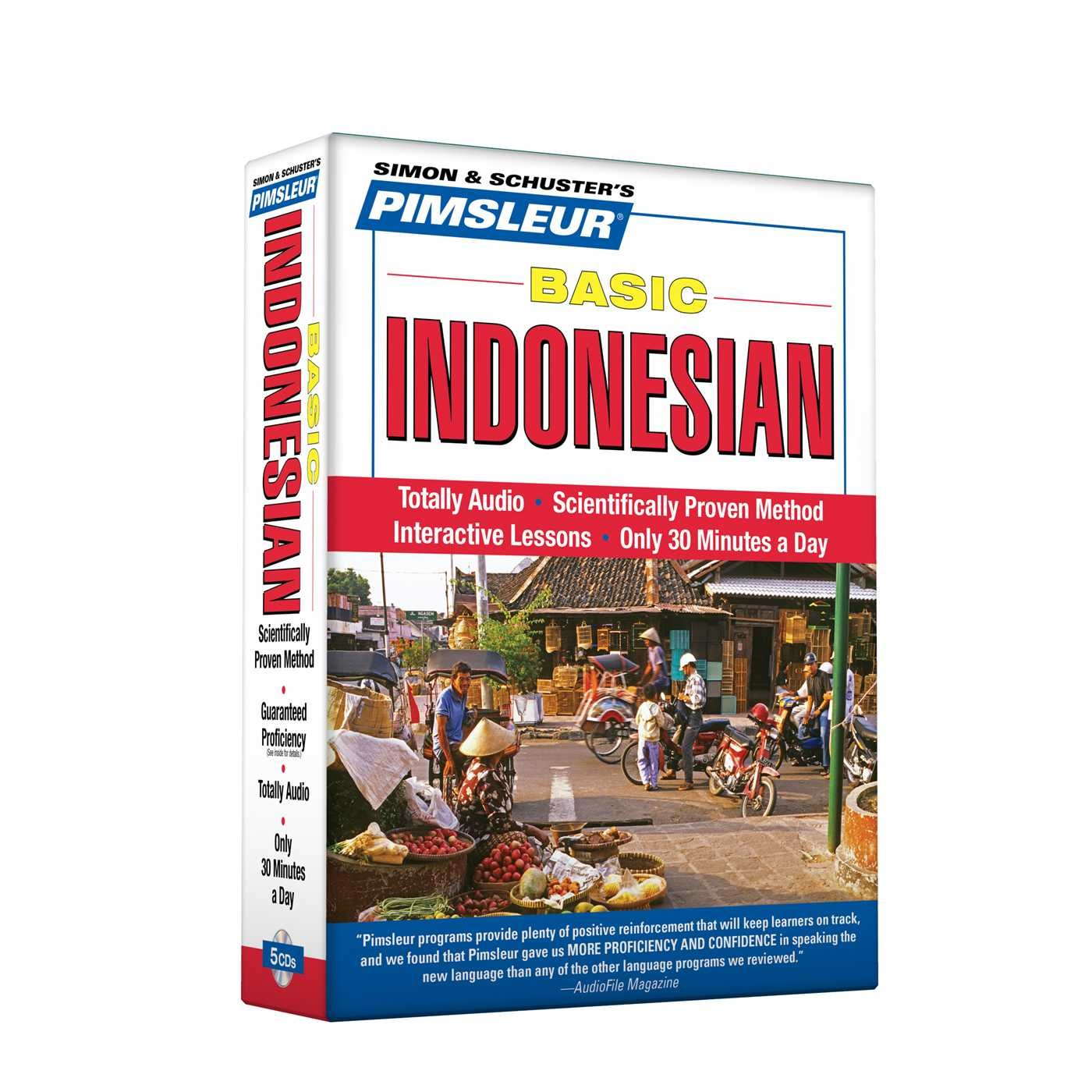 Pimsleur Indonesian Basic Course - Level 1 Lessons 1-10 CD: Learn to Speak and Understand Indonesian with Pimsleur Language Programs by Brand: Pimsleur