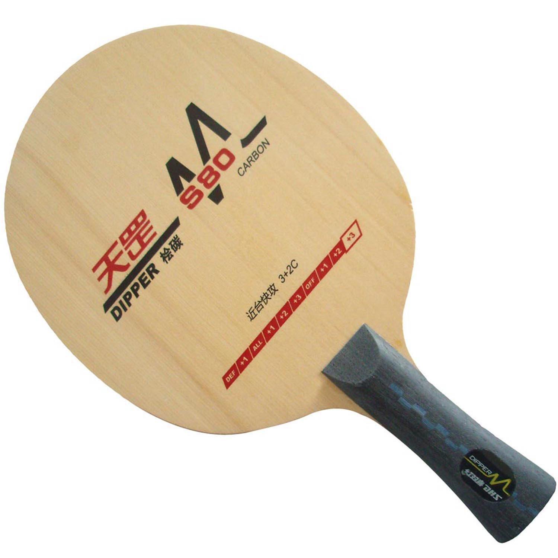 DHS FL Dipper DM。s80 Table Tennisブレード   B01H4ZXCOO