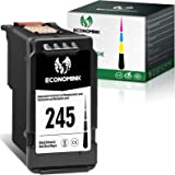 Economink Remanufactured 245 Black Ink Cartridge Replacement for Canon PG-245 PG-243 for Pixma MG3022 MG2522 TR4520 TR4522 MG