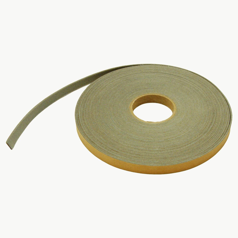 "J.V. Converting FELT-08/LGRY07525 JVCC FELT-08 Polyester Felt Tape: 3/4"" x 75 ft, Light Grey"