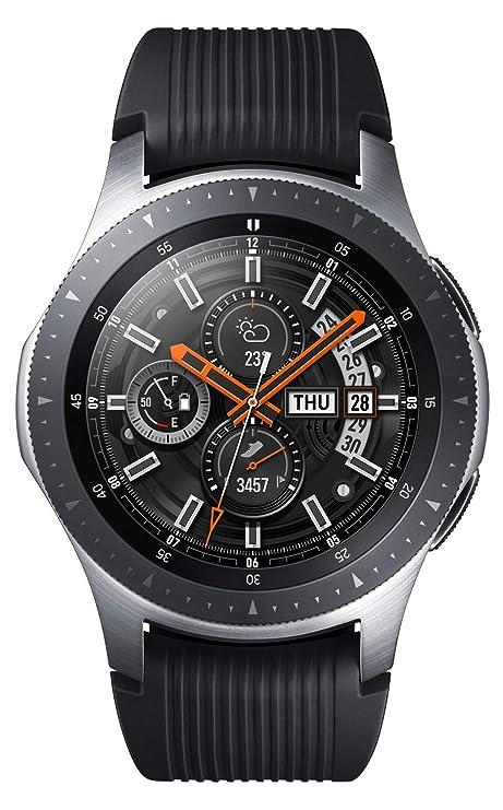 Samsung Galaxy Smartwatch 46 Mm Silver Sm R800nzsainu Amazon In