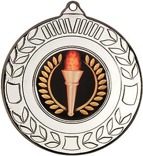 Couronne Medal (1in Centre)–Argent 2dans