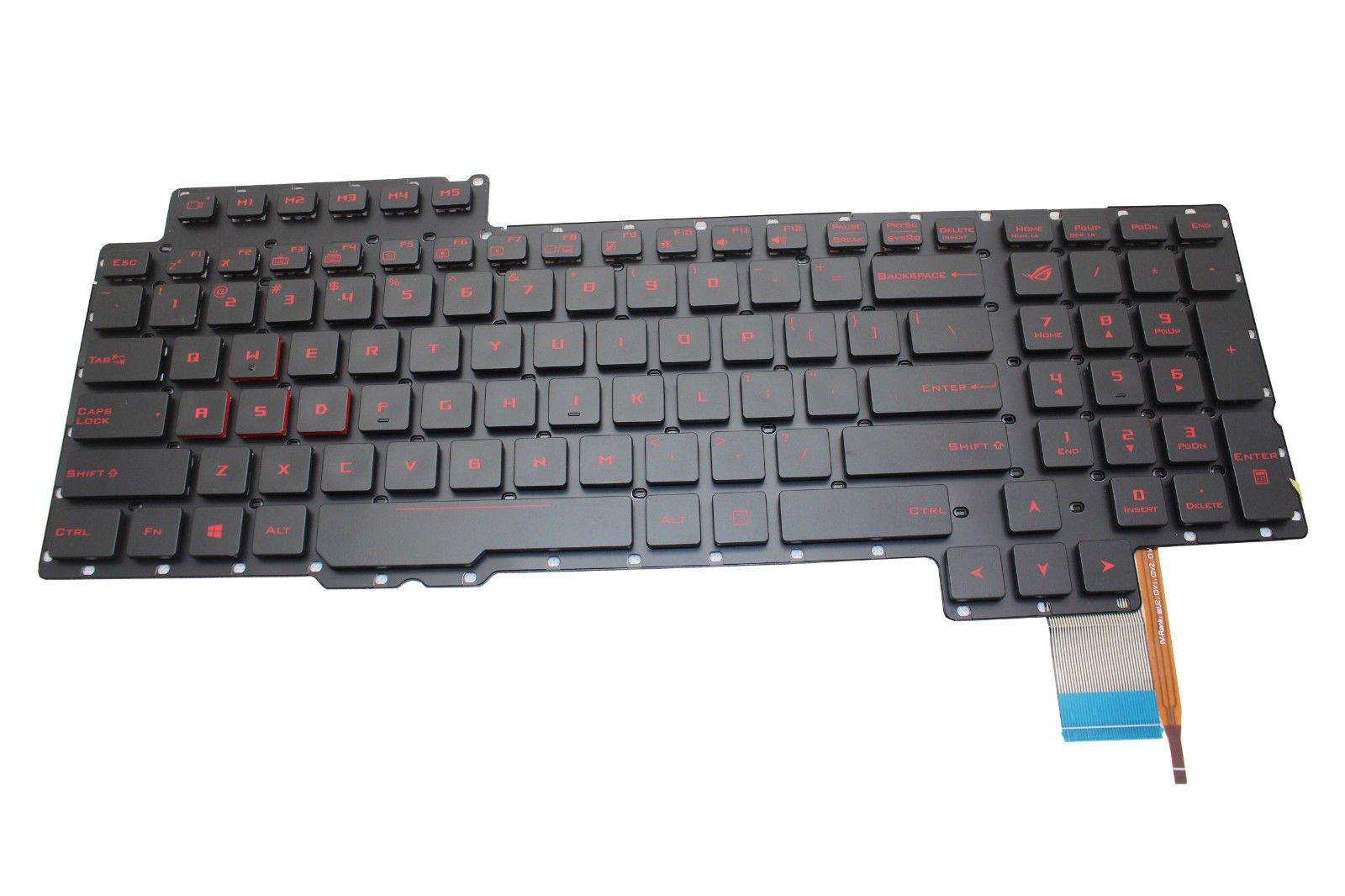 Original New for Asus ROG G752V G752VL G752VS US Backlit Keyboard