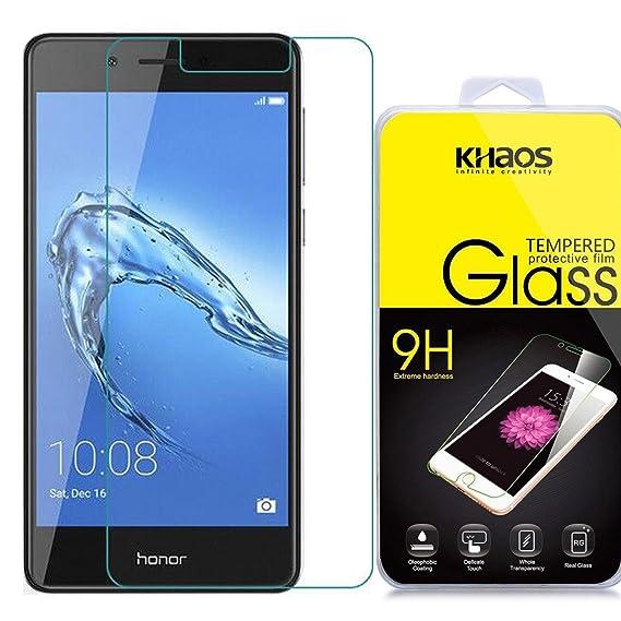 Amazon com: Khaos for Huawei Honor 6C Tempered Glass Screen