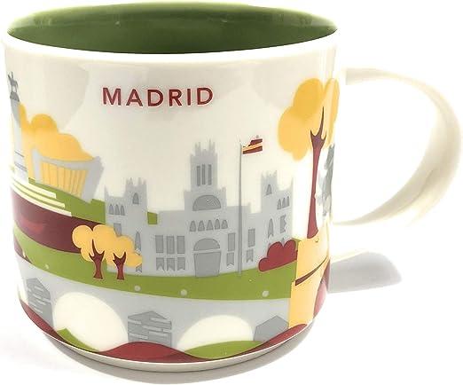 Starbucks Usted Está Aquí Yah Taza De La Ciudad - Madrid, España ...