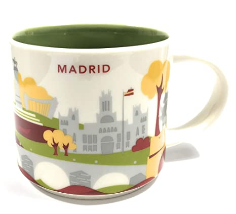 Starbucks You Are Here YAH City Mug - MADRID, ...